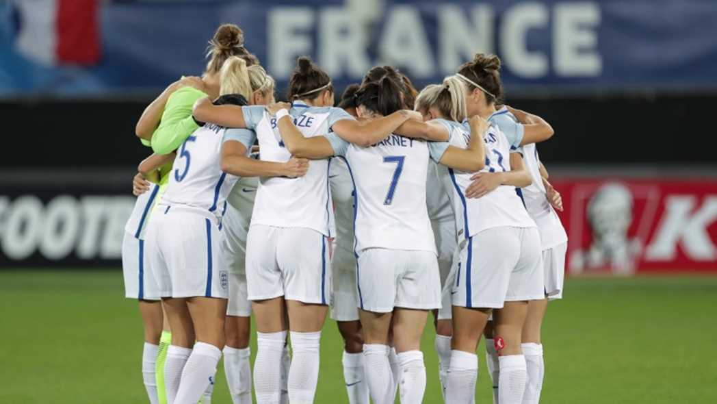 The FA girls' England talent pathway
