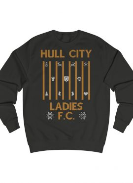 Men's Hull City Ladies Xmas Sweater