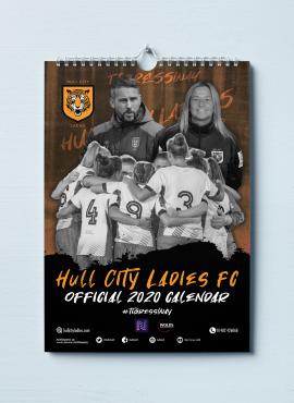 Official 2020 Hull City Ladies FC Calendar