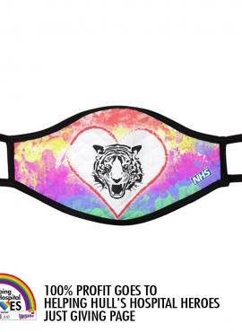 Rainbow NHS Fundraising Fashion Facemask